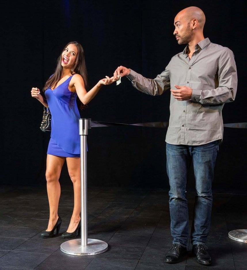 Aurora Leonard and Jevon McFerrin in Bounce: ABC-Disney Discovers Talent Showcase 2015